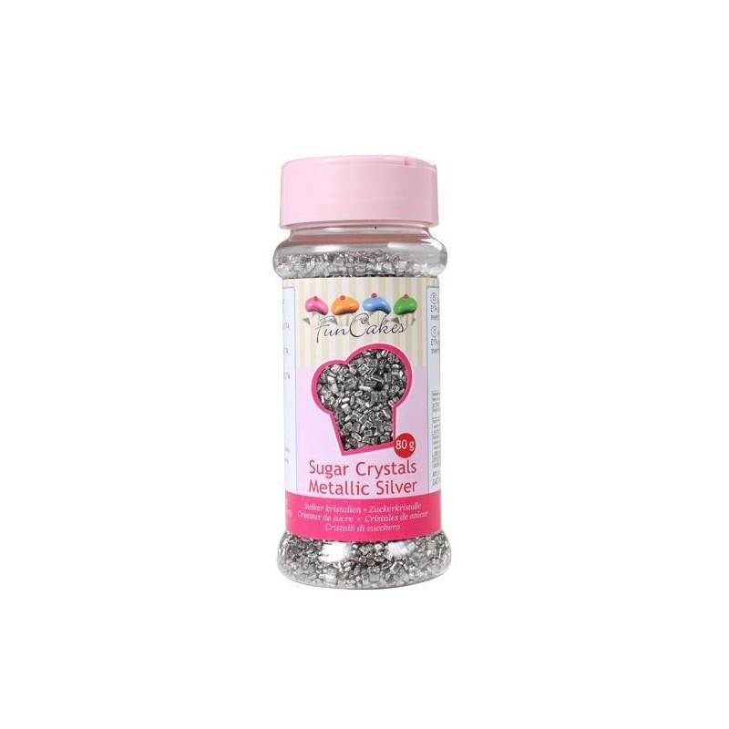 Sprinkles Azúcar Plata Funcakes