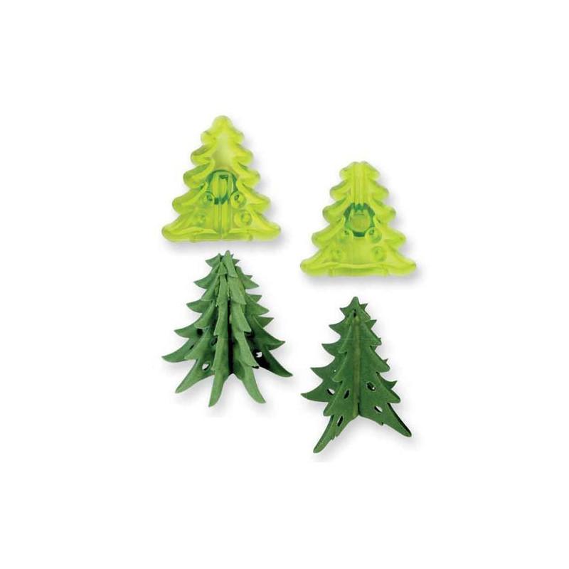 Set cortantes Árbol Navidad Mini JEM