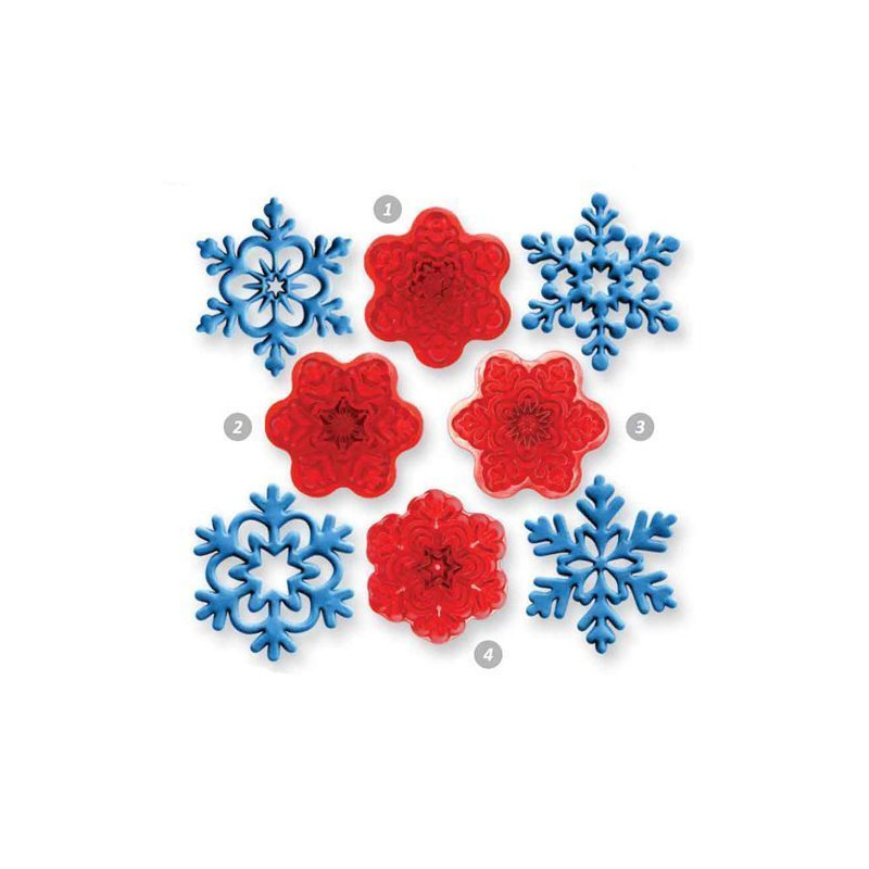 Set cortantes Copos de nieve JEM