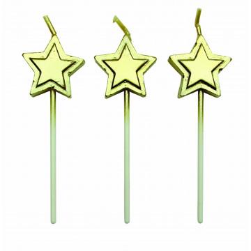 Velas Estrellas Doradas PME