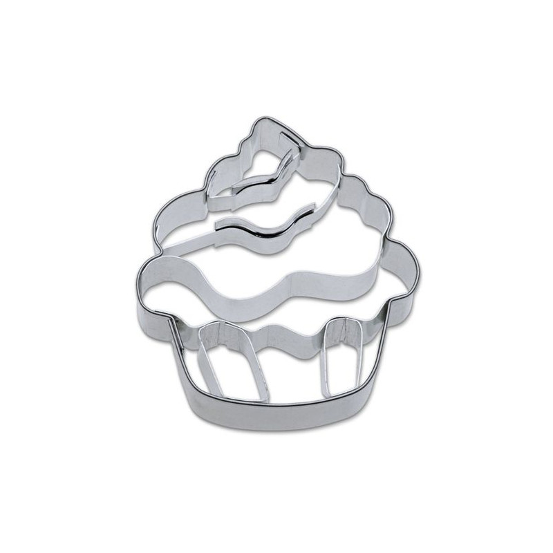 Cortante galleta 3D Cupcake
