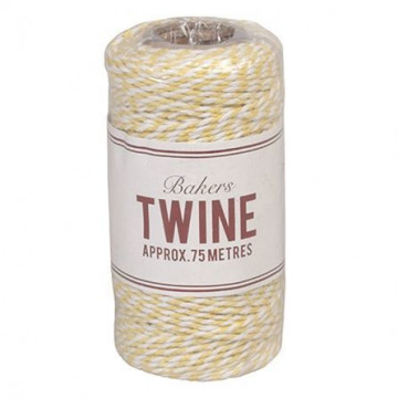 Baker´s Twine Amarillo y Blanco