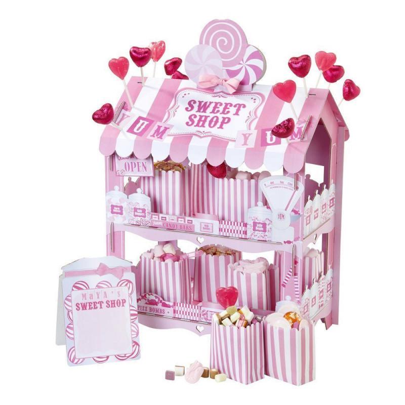 Stand presentación Sweet Shop Rosa
