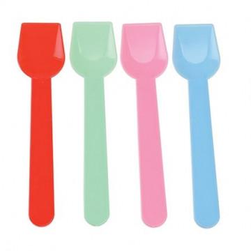 Pack de 30 cucharillas para helados colores varios