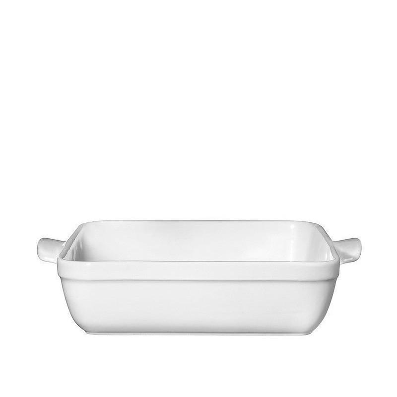Molde cuadrado de cerámica Blanco Emile Henry