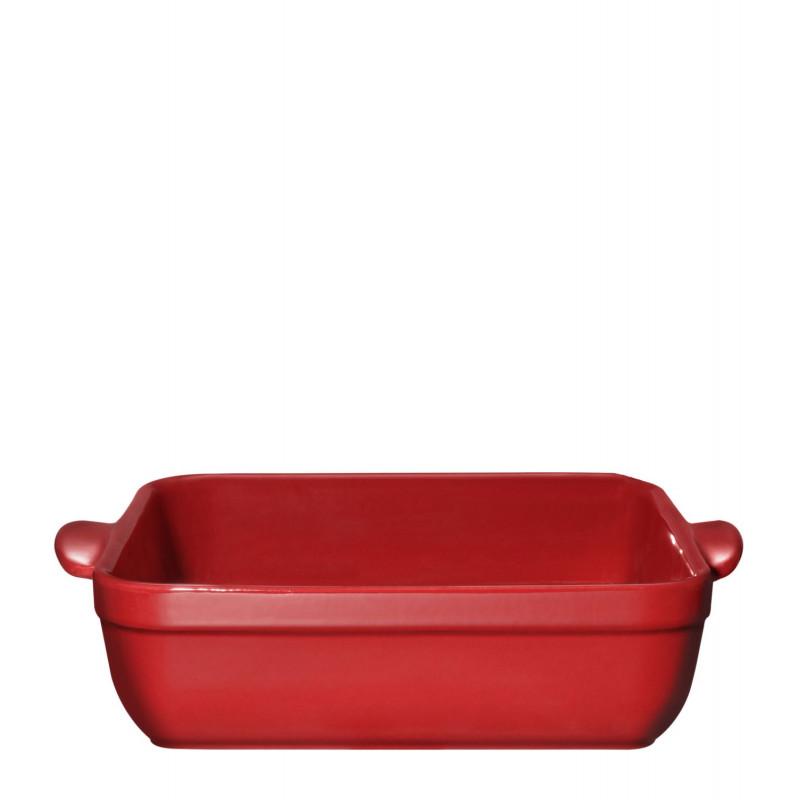 Molde cuadrado de cerámica Rojo Emile Henry