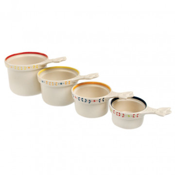 Set Tazas medidoras cerámica Moorish