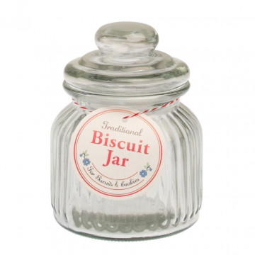 Bote cristal para galletas 0.58L