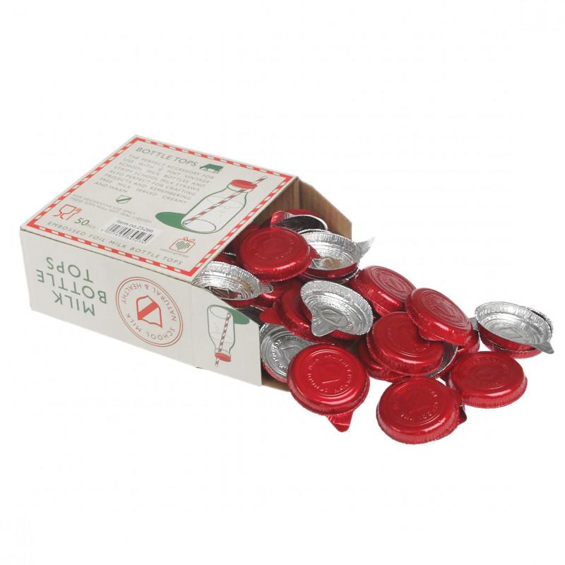 Pack 50 Tapones para botella de cristal básica 200 ml