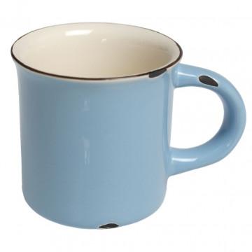 Tazón con asa cerámica Azul Antigua