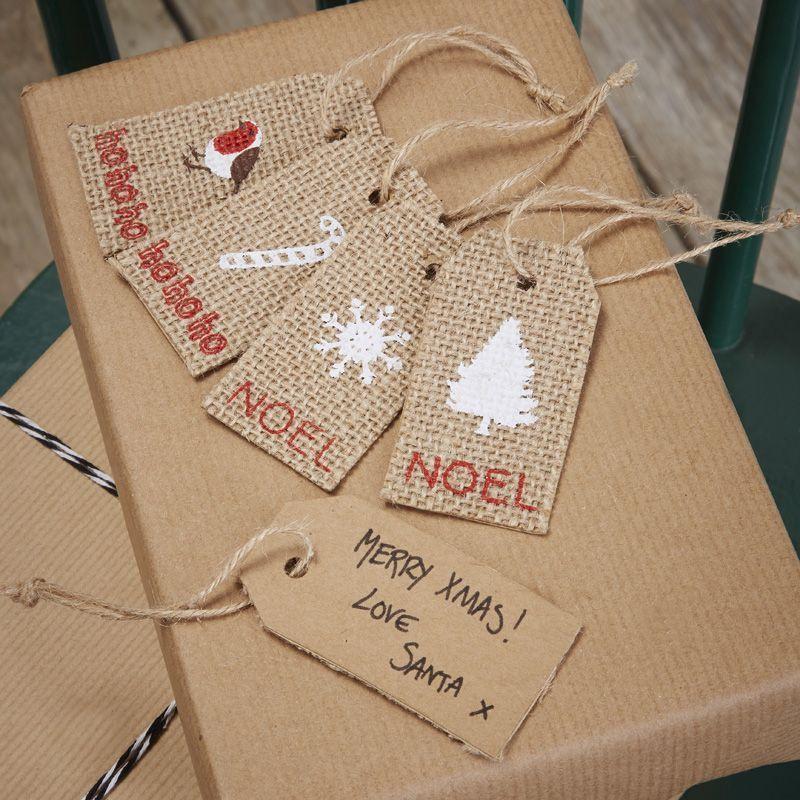 Etiquetas Noel Vintage