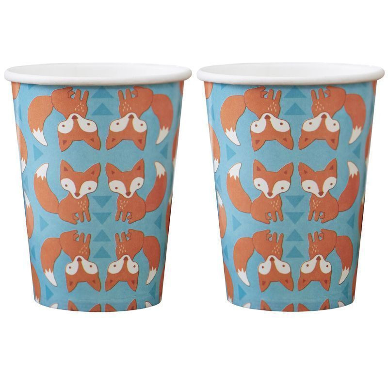 Vasos fiesta Zorro Woodland Friends