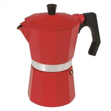 Cafetera para fuego Rojo