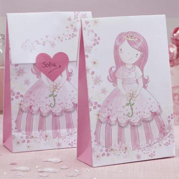 Bolsas rígidas de papel Fiesta Princesa