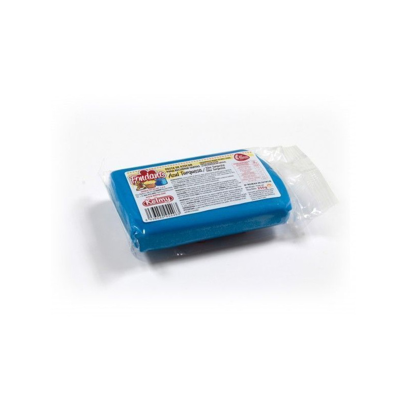 Fondant listo para usar Azul Turquesa 250gr Kelmy