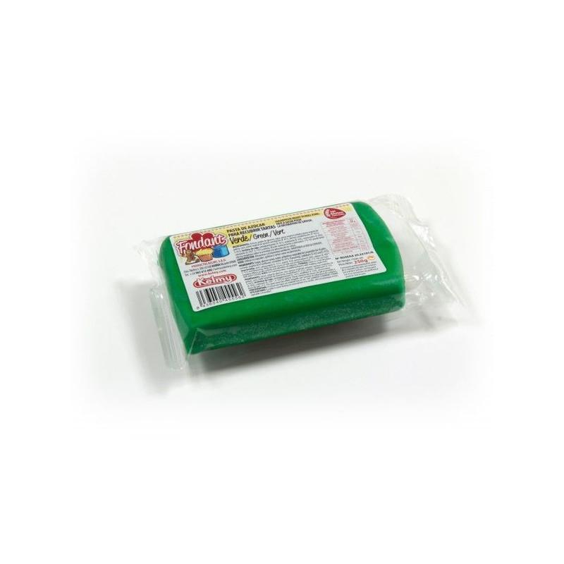 Fondant listo para usar Verde 250gr Kelmy
