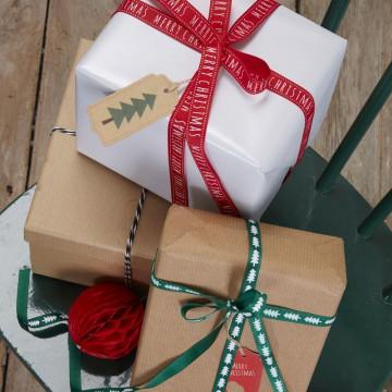 Cintas + Baker´s Twine Navidad