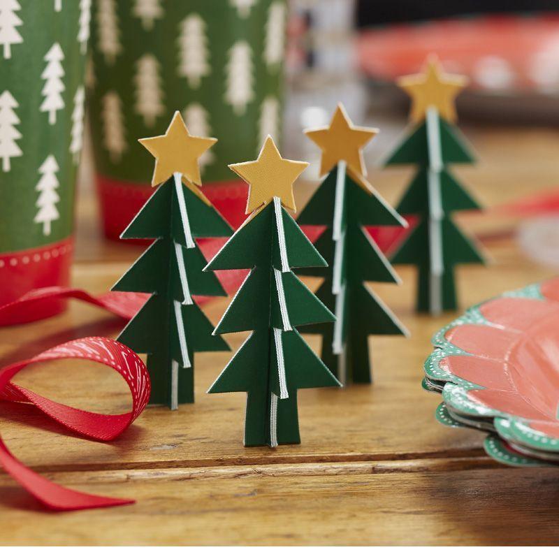 Decoración no comestible: Arbolitos Navidad