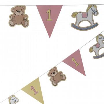 Banderola Guirnalda primer cumpleaños Fiesta Bebe