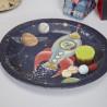 Plato fiesta Aventura Espacial