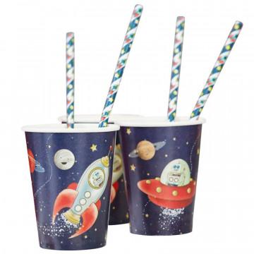 Vasos fiesta Aventura Espacial