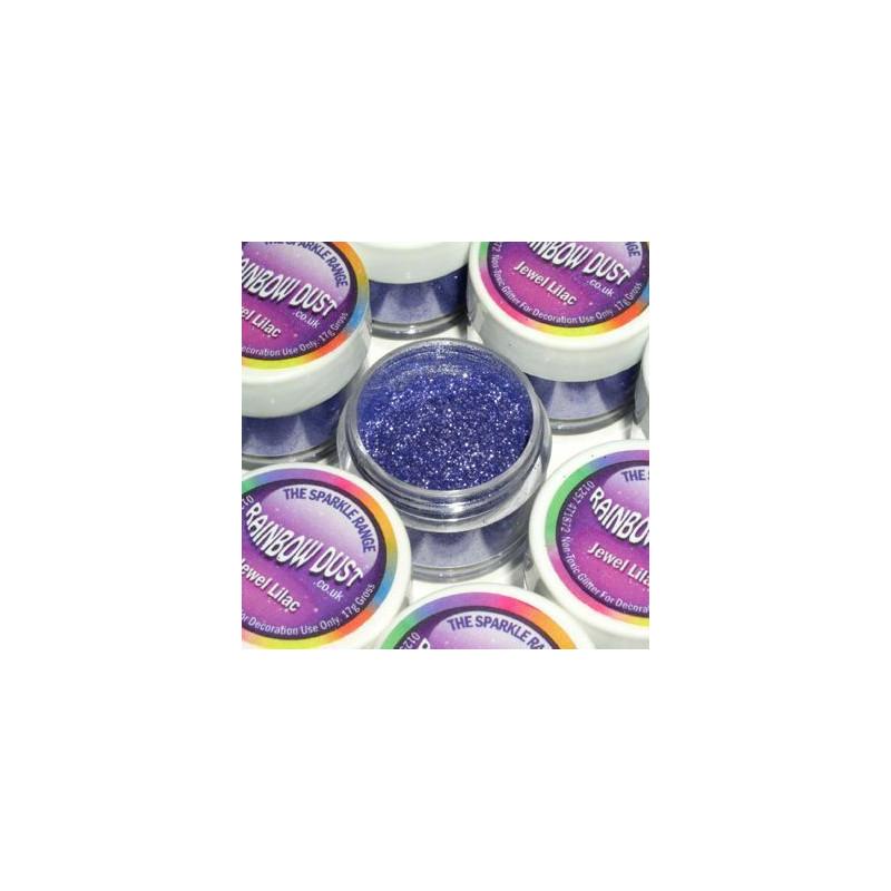 Purpurina fina Decorative Sparkles Jewel Lilac