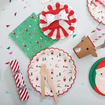 Servilleta de papel mini Be Jolly Navidad