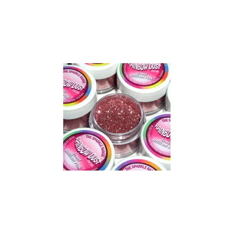 Purpurina fina Decorative Sparkles Jewel Brilliant pink