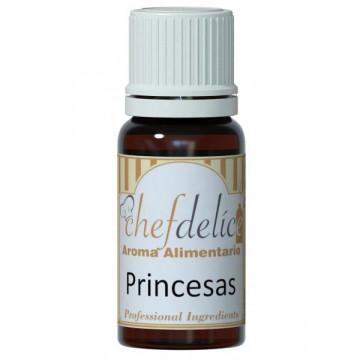 Aroma concentrado Princesa 10ml Chefdelice
