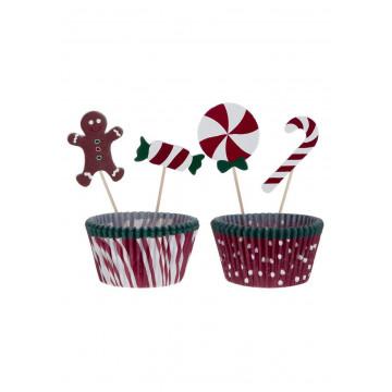 Set para cupcakes: Gingerbread Birkmann