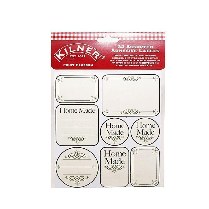 Etiquetas adhesivas Home Made Kilner