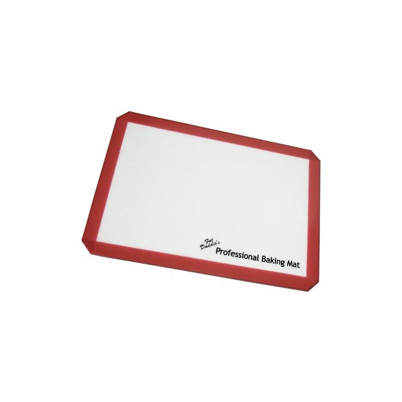 Plancha de silicona para hornear 41.2 x 29.2 cm Fat Daddio´s