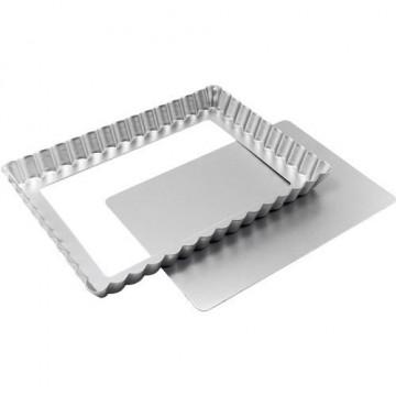 Molde rectangular rizado 28.5 x 20.6cm Fat Daddio´s