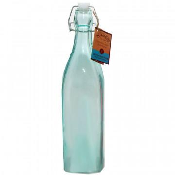 Botella de cristal Azul 1L Kilner