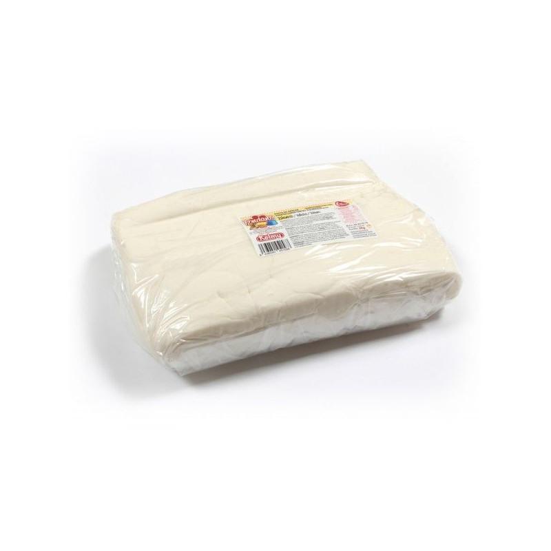 Fondant listo para usar Blanco 5kg Kelmy