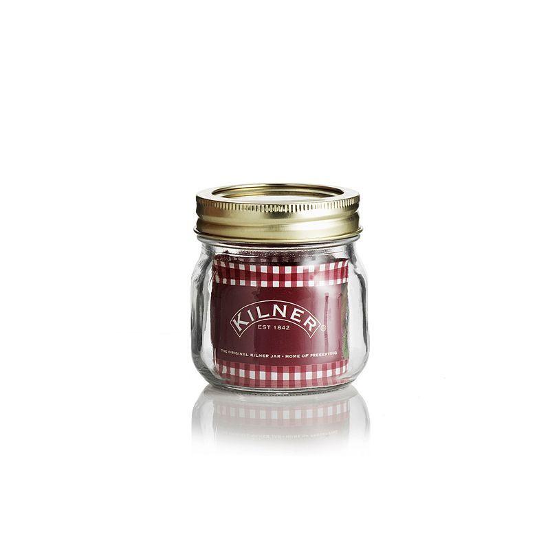 Tarro de cristal con tapa rosca 0.25L Kilner