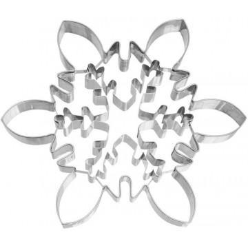 Cortante galleta Copo de Nieve Cristal Grande Birkmann