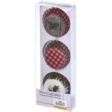 Capsulas mini cupcakes Winter Poetry Birkmann