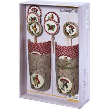 Set para cupcakes: Winter Poetry Birkmann