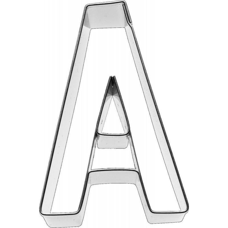 Cortante galleta letra A
