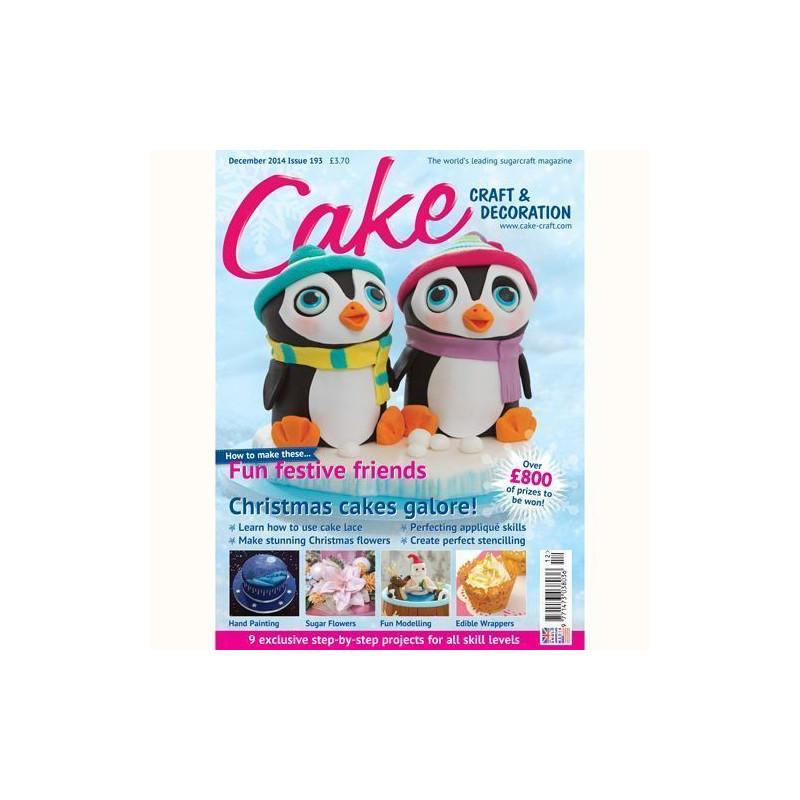 Revista Cake Craft & Decoration Edición Diciembre 2014