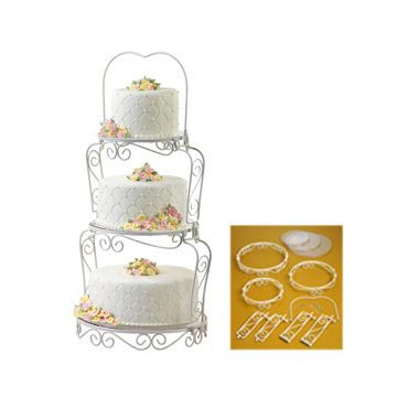 Stand presentación tartas Graceful Tiers Wilton
