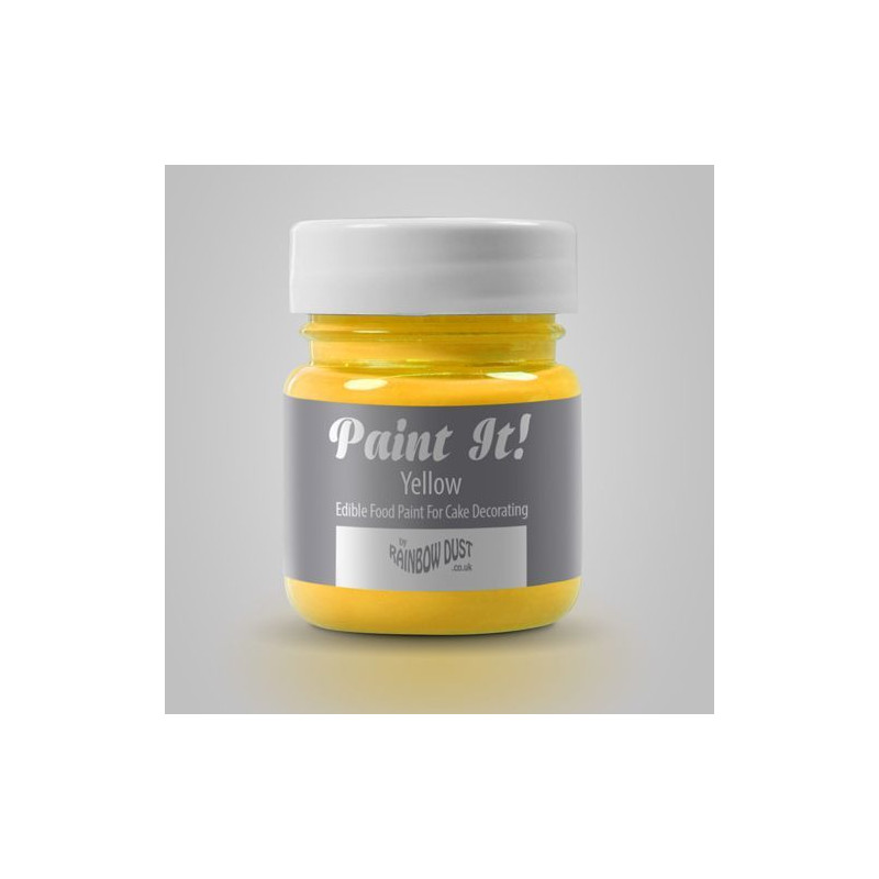 Pintura comestible Amarillo 25gr Rainbow Dust