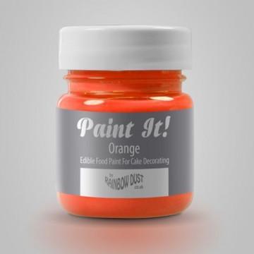 Pintura comestible Naranja 25gr Rainbow Dust