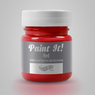 Pintura comestible Rojo 25gr Rainbow Dust