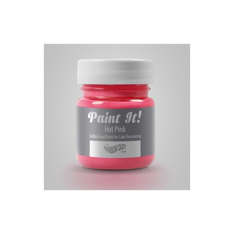Pintura comestible Rosa 25gr Rainbow Dust