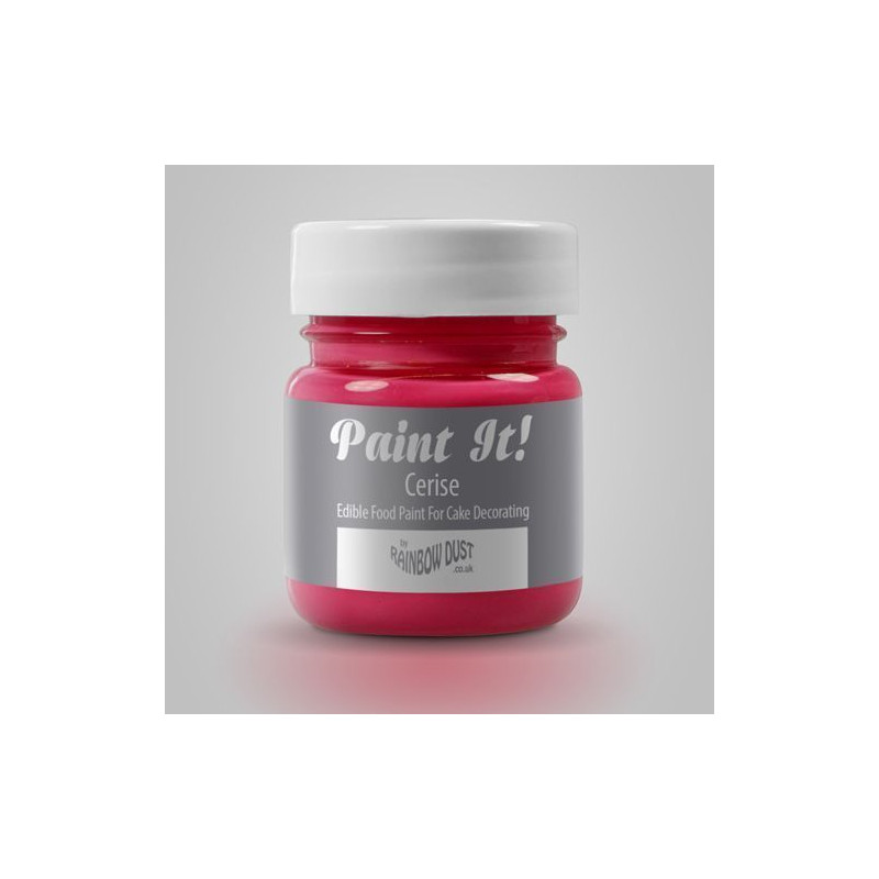 Pintura comestible Rosa Cereza 25gr Rainbow Dust