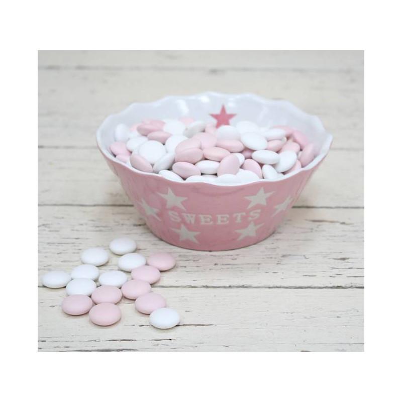 Cuenco Dulces Sweets Rosa Estrellas