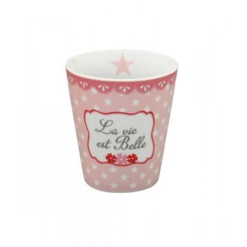 Tazón de leche La vie ets Belle