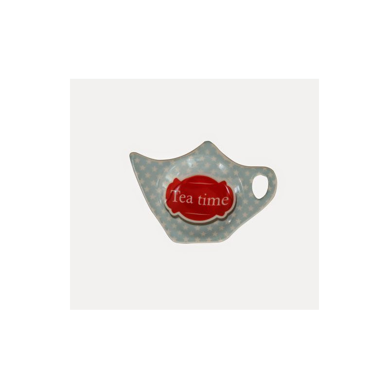 Plato para bolsa de té Tea Time